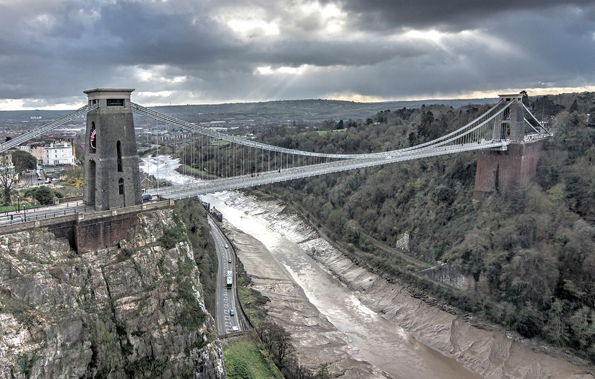Tour of Bristol, Brunel's Clifton Suspension Bridge