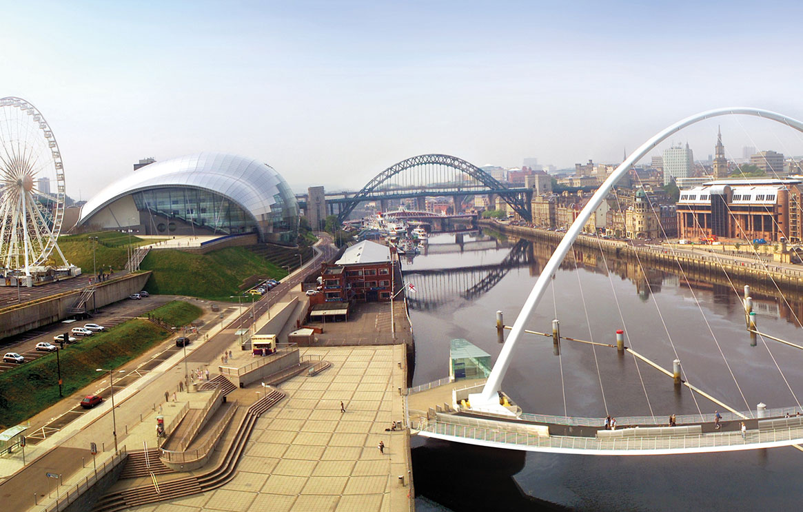 Newcastle upon Tyne, Blue badge guided tour