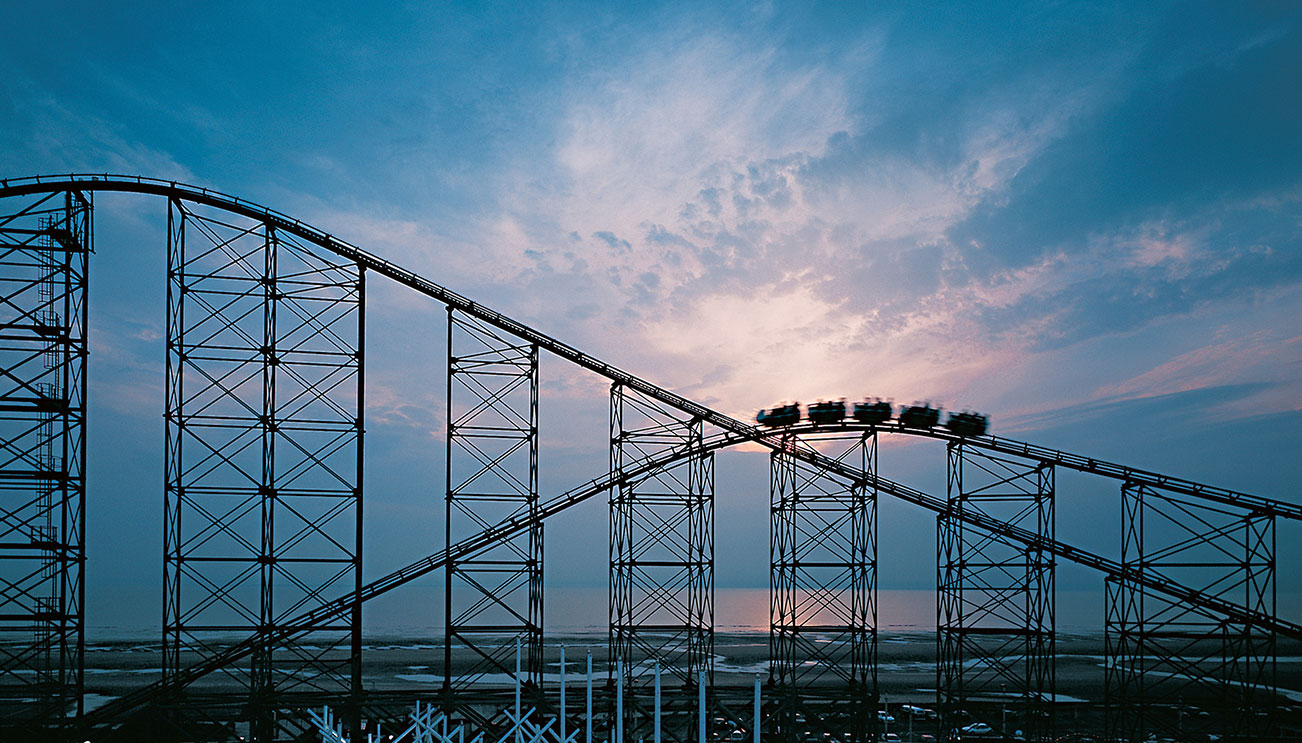 Big Dipper, Blackpool pleasure beach