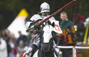 knight jousting