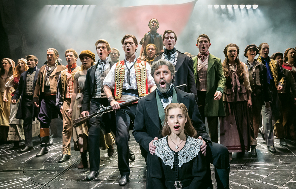 Les Miserables London theatre history guide