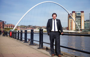 Newcastle guide Alex Jacobs