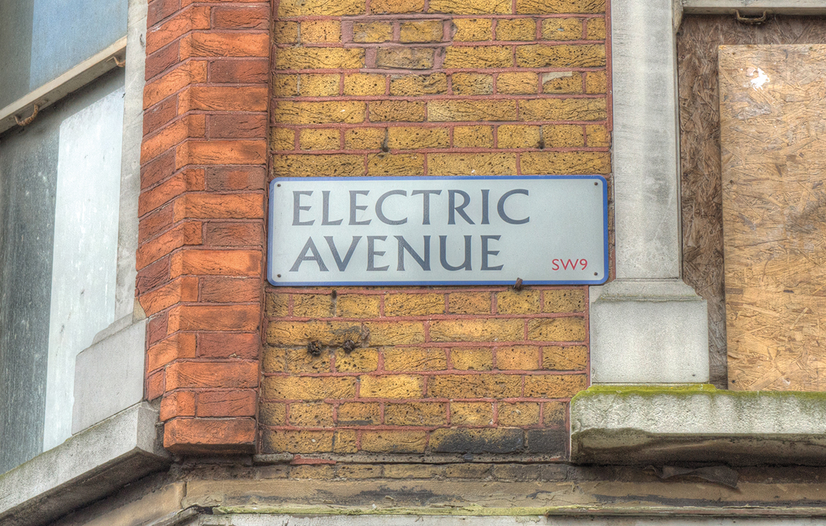Electric Avenue Street sign, Brixton