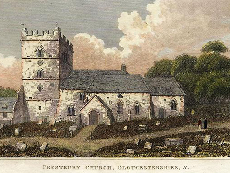prestbury-church-postcard
