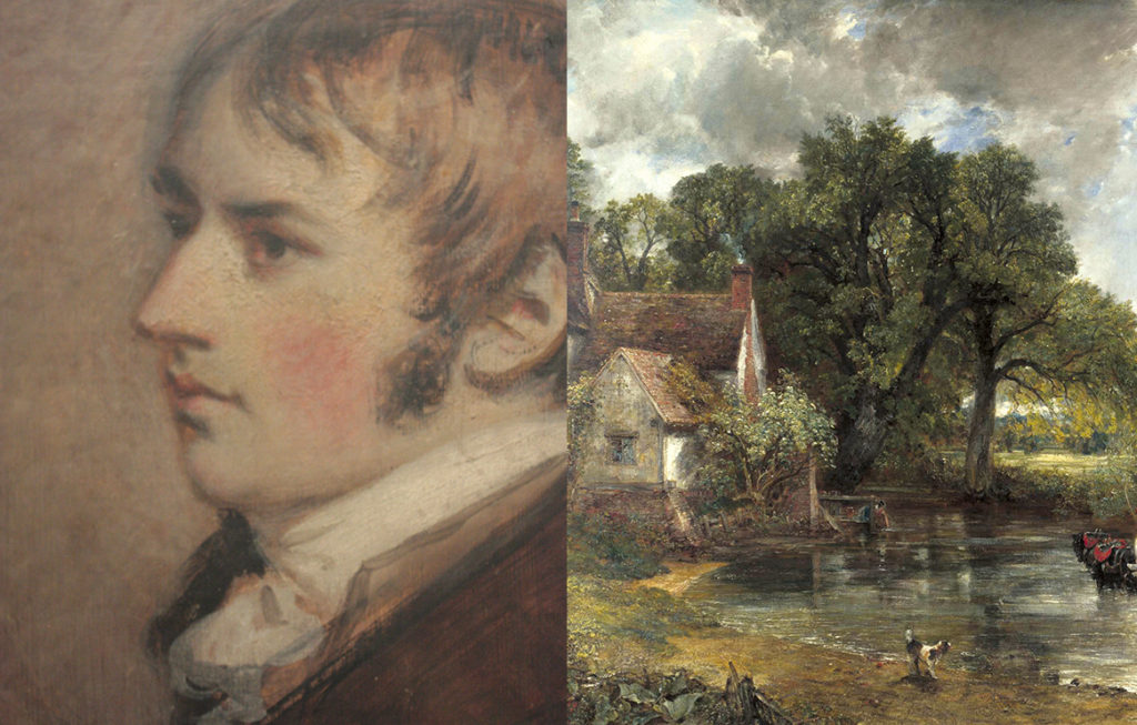 John Constable and his painting, The Hay Wain