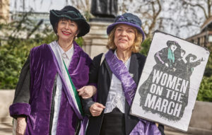 Women's march London tour