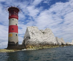 Lighthouse and the Needles, Isle of Wight