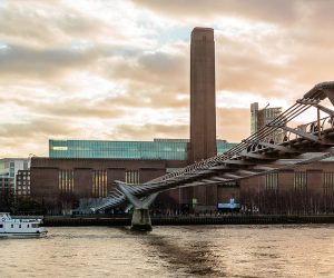 The Tate Modern viewed from the Thames