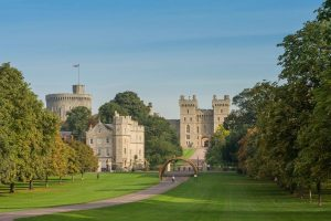 The Coronation Arch on The Long Walk leading up to Windsor Castle, Windsor Great Park
