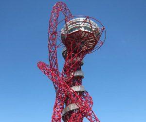 orbit slide, olympic park