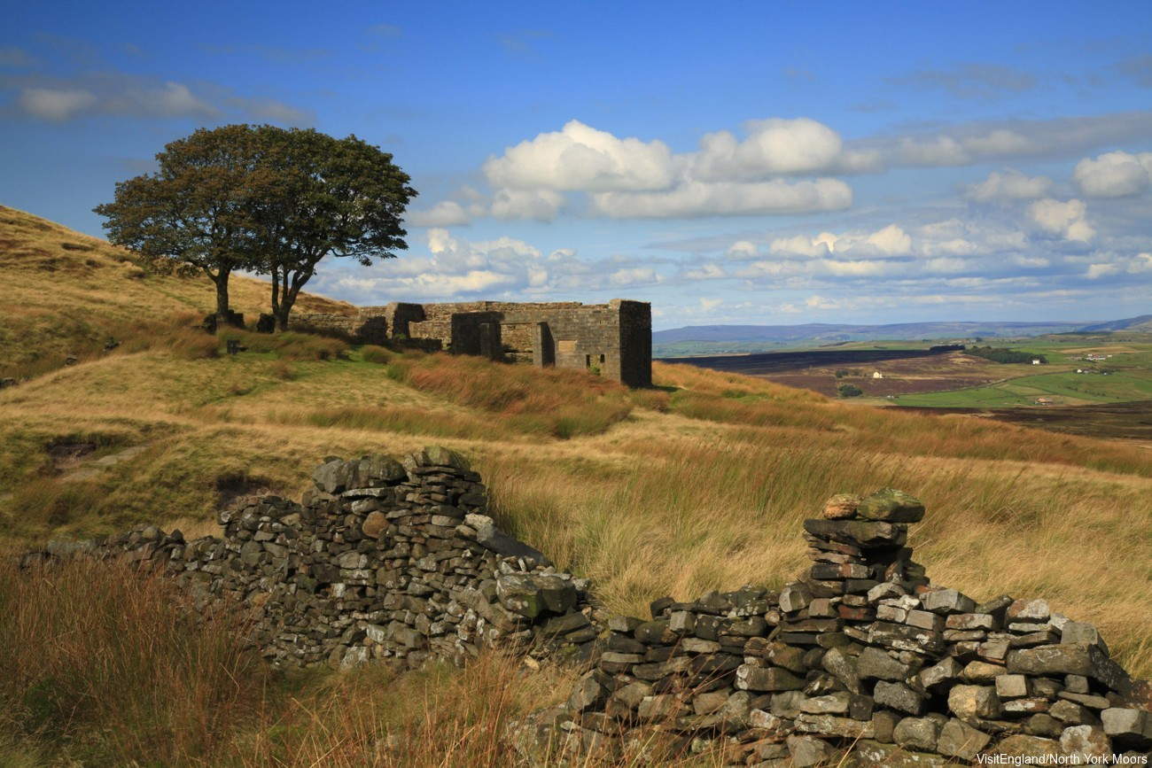 Top Withens, Haworth - the alleged inspiration for Emily Bronte's Wuthering Heights