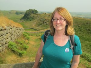 Laura Rhodes - Hadrian's Wall tour