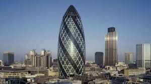 The Gherkin tower London