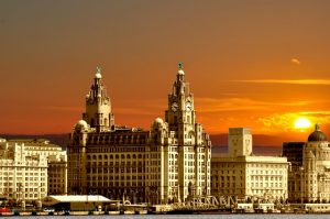 Three Graces from the Liverpool Docks