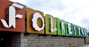 Folkestone sign