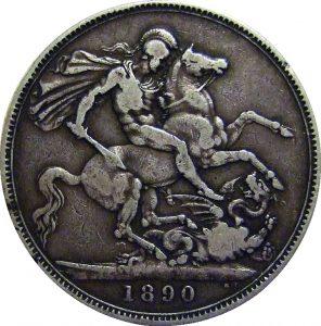 British crown 1890