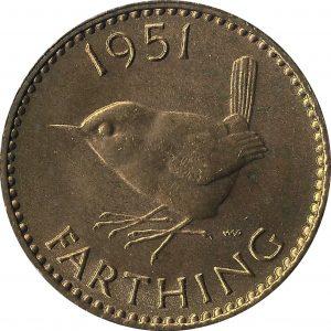 British farthing 1951