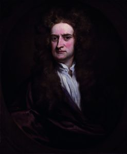 Sir Isaac Newton by Sir Godfrey Kneller