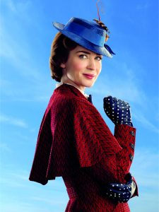 Mary Poppins (Emily Blunt) in Disney's original musical MARY POPPINS RETURNS