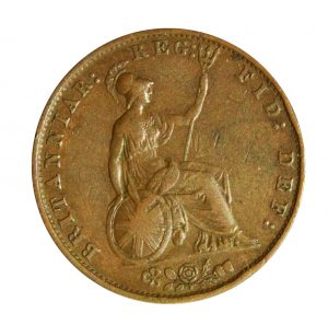 half penny coin
