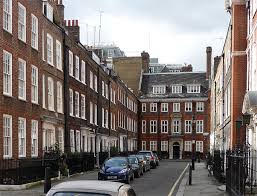 Cowley Street, London that features in Mary Poppins