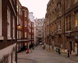 Middle Temple Lane, London that features in Mary Poppins