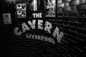Sign for the Cavern Club Liverpool
