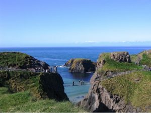 North Antrim Coast, rope bridge
