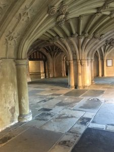 The Undercroft of The Chapel in Lincoln's Inn