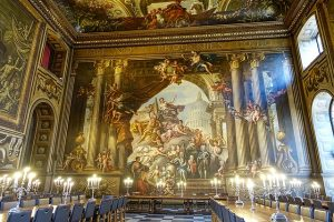 The Painted Hall , Royal Naval College, Greenwich