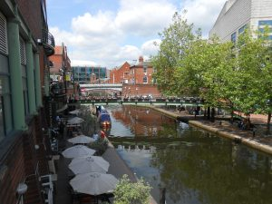Brindley Place: Canals