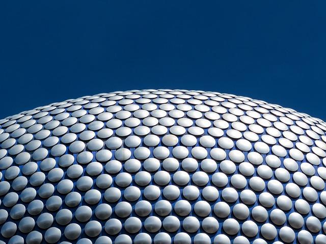 Close up of the Selfridges building, Birmingham