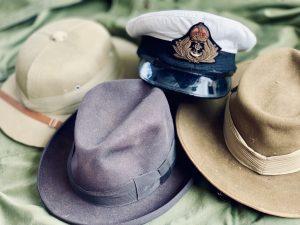 4 hats worn by Churchill