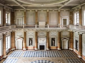 Interior of the Marble Saloon at Wentworth Woodhouse