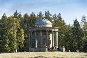 Wentworth Castle Gardens-parkland rotunda