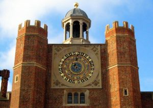 Astronomical Clock in Clock Court, Hampton Court Palace