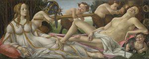 Sandro Botticelli, Venus and Mars (c) National Gallery