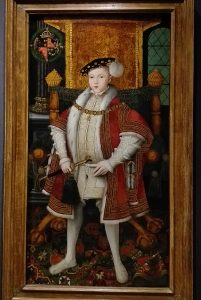 painting of a Tudor boy