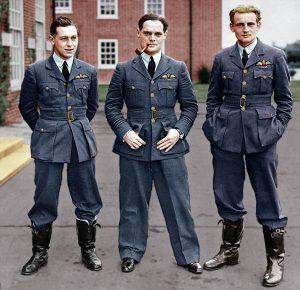 photo of three soliders