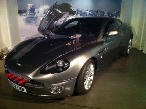 Aston Martin (with rocket launcher!)