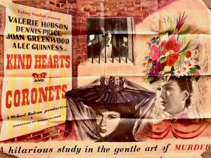 The 1949 Ealing studios dark comedy Kind Hearts and Coronets featured Leeds Castle in its opening credits