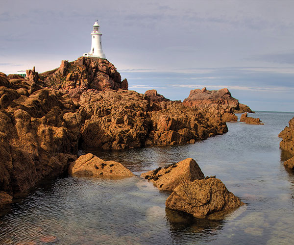 Corbiere Lighthouse, Jersey
