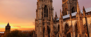 York Minster at sunset