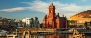 Cardiff dockside