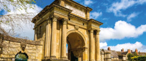 Entrance of Blenheim Palace