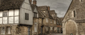 Tudor houses in Lacock