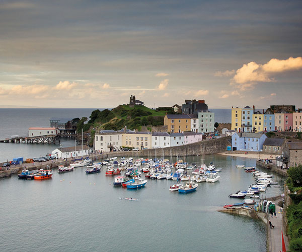 Small harbour in Pembrokeshire