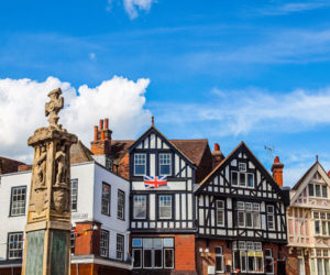 Tudor houses in Canterbury