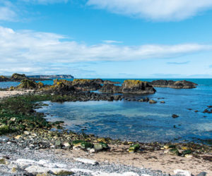Coast in Northern Ireland on Game of Thrones tour