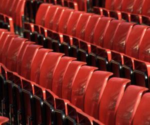 Football stadium seating